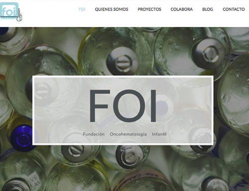 Diseño nueva web Fundación FOI